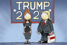 Campagne électorale: le couple Trump positif au Covid-19