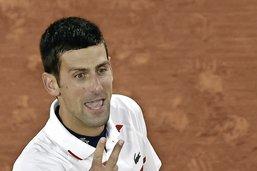 Petite frayeur pour Djokovic