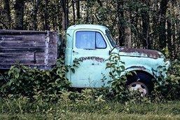L'homme à la vieille camionnette