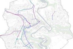 Fribourg: 75% du réseau routier bientôt limité à 30km/h