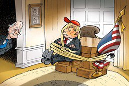 Etats-Unis: une présidence difficile à lâcher