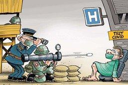 Pandémie: l'armée en renfort dans les hôpitaux