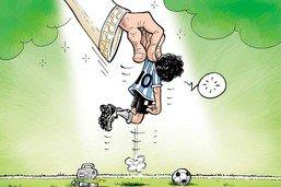 La main de Dieu nous enlève Maradona