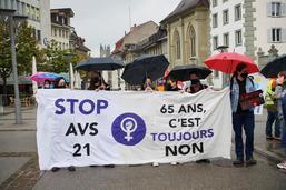 Manifestation du 1er Mai à Fribourg