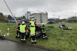 Une personne blessée dans un accident à Villars-sur-Glâne