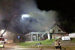Des habitations évacuées après un incendie à Givisiez