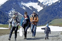 Après le ski, le nettoyage des pistes