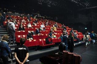 Lausanne: le public de retour au théâtre de Vidy