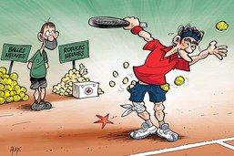 Federer a toujours de gros problèmes de genou
