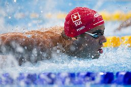 Le bronze pour Ponti sur 100 m pap', 10e médaille pour la Suisse
