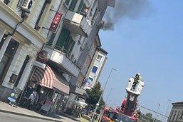 Pompiers alertés pour un dégagement de fumée à Payerne