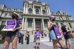 Viol: manifestation à Lausanne contre le verdict bâlois