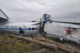 Seize morts dans le crash d'un avion dans le centre de la Russie