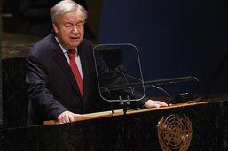 """COP26: le secrétaire général de l'ONU """"inquiet"""" d'un possible échec"""