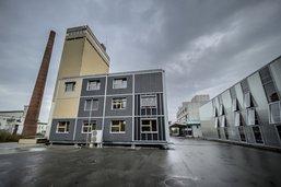 Bluefactory est prêt à construire