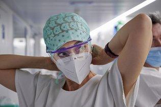 Hospitalisations en légère hausse